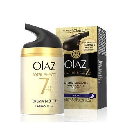 Total Effects Crema Notte Rassodante Olaz