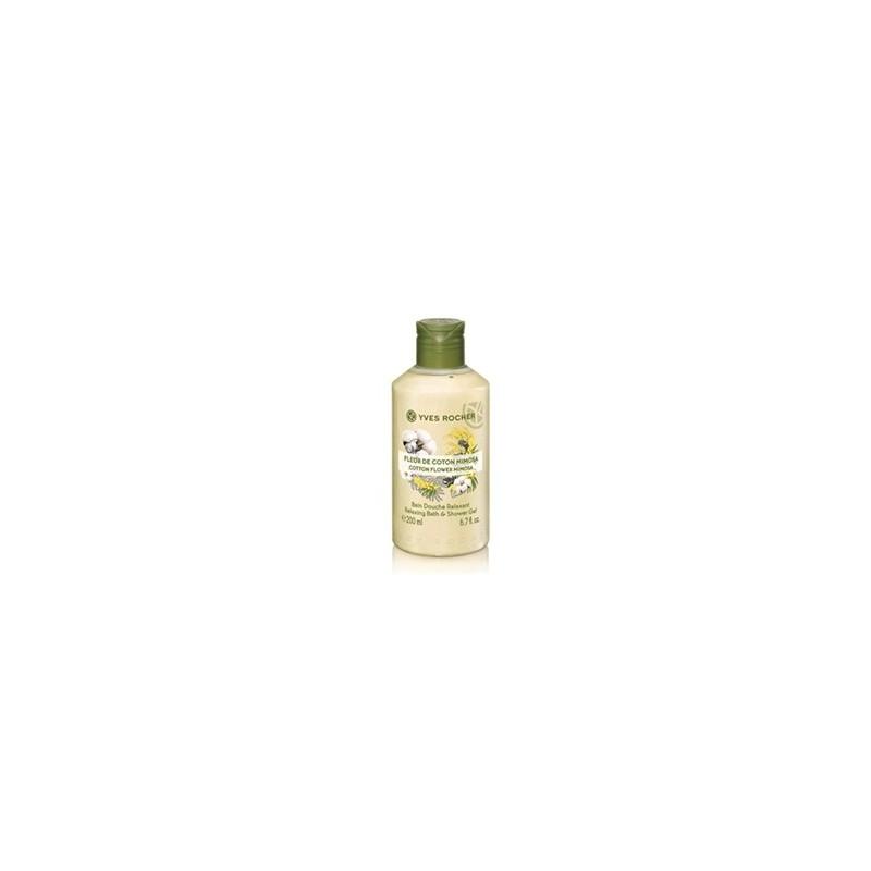 Bagno doccia fiore di cotone e mimosa