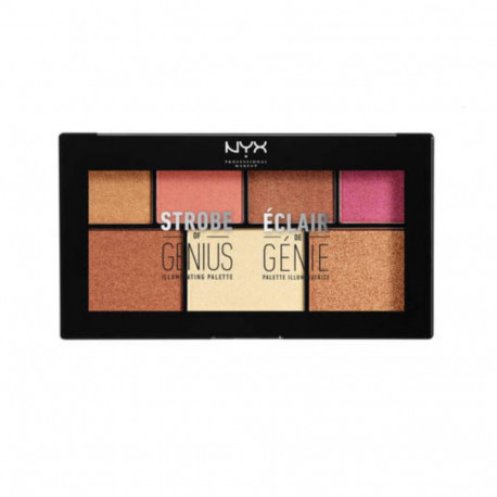 Strobe of Genius Illuminating Palette - Warm NYX Professional Makeup